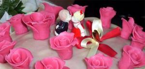 Törtchen zum Valentinstag