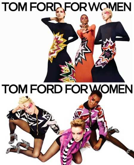 Tom Ford / Herbst 2013: Schlauchkleider und Jacken