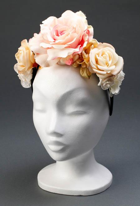 Die Zwillingsnadeln: Frieda - Ein Haarreif wie ein Blütenkranz