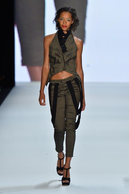 Arrey Kono, Nadir Tati, Romero Bryan Show - Mercedes-Benz Fashion Week Spring/Summer 2014