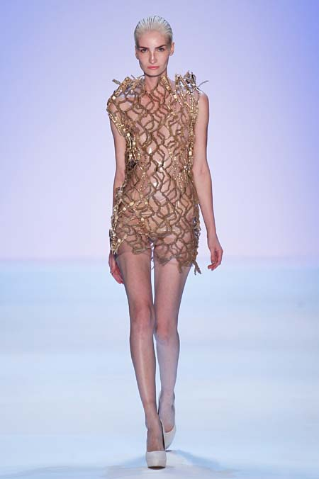 Irene Luft Show - Mercedes-Benz Fashion Week Spring/Summer 2014