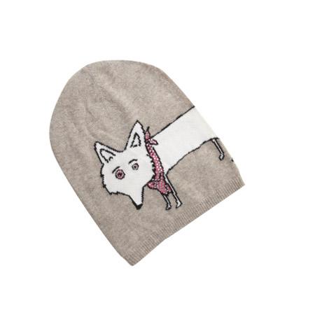 Mütze-Hundemotiv