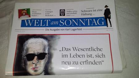 Lagerfeld-WeltAmSonntag