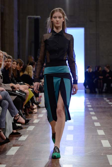 Achtland Show - Mercedes-Benz Fashion Week Autumn/Winter 2014/15