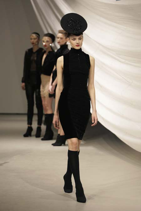Augustin Teboul Show - Mercedes-Benz Fashion Week Autumn/Winter 2014/15