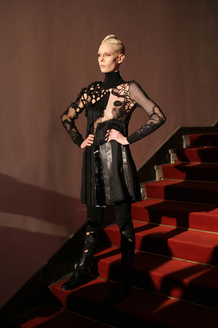 Augustin Teboul Show - Mercedes-Benz Fashion Week Berlin Autumn/Winter 2015/16: Romantik kann auch Stärke demonstrieren