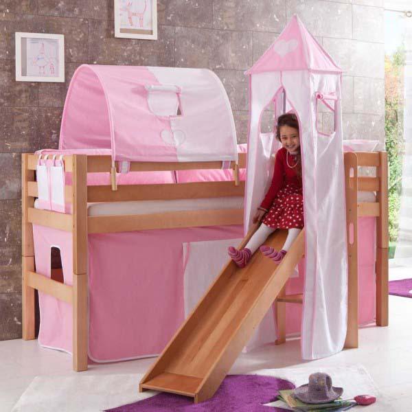 Für kleine Prinzessinnen: Spielbett Nikita