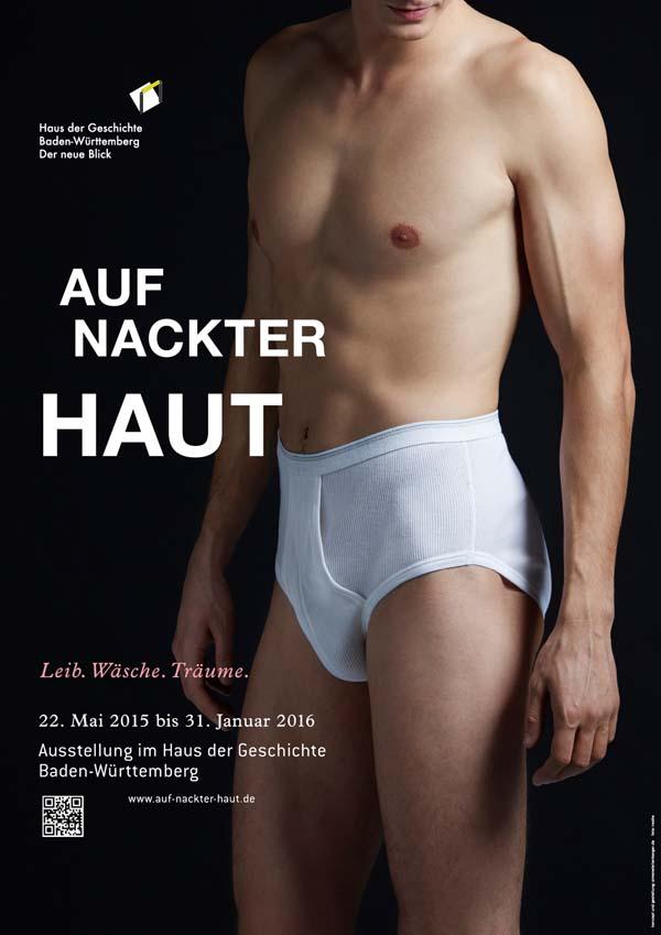 Plakat_Auf_nackter_Haut_Mann