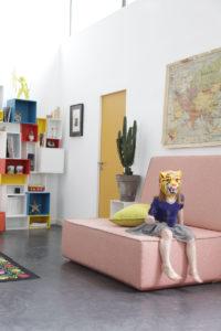 Einrichten mit dem kreativen Stecksystem: Cubit - Regal und Sofa
